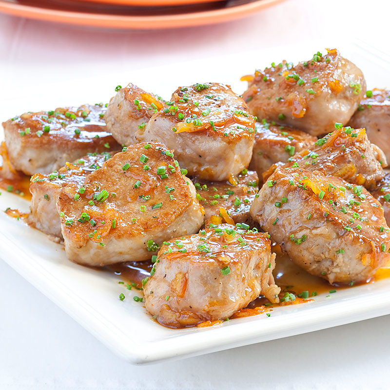 Orange-Glazed Pork Medallions Recipe - Cook's Country