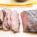 Grilled Flank Steak with Charred Sweet Onion Relish