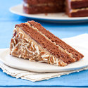 Reduced-Fat German Chocolate Cake