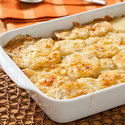 Caramelized Onion and Potato Gratin