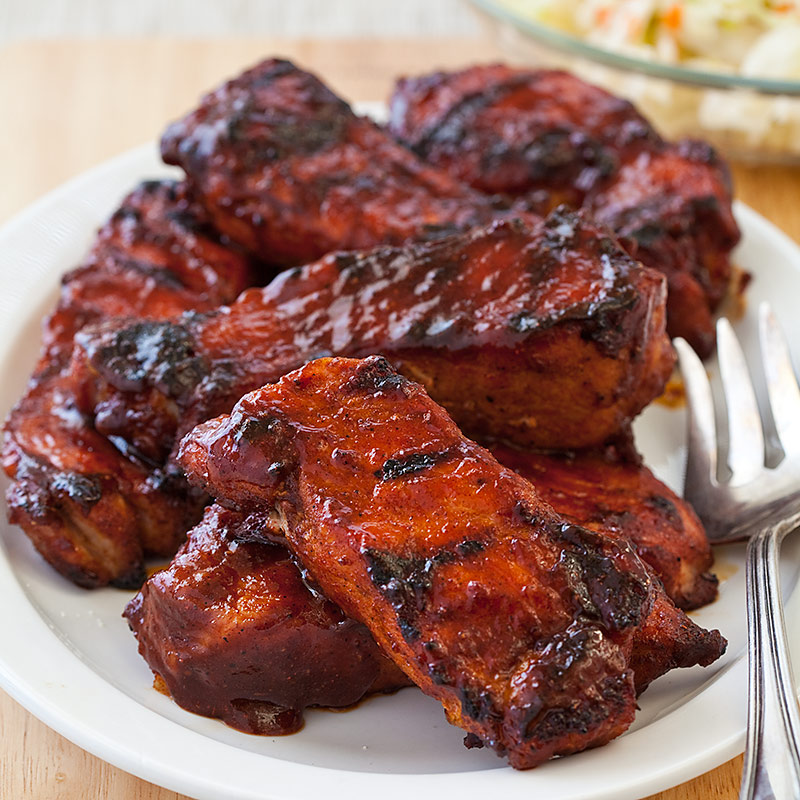 Oven Baked Ribs America S Test Kitchen