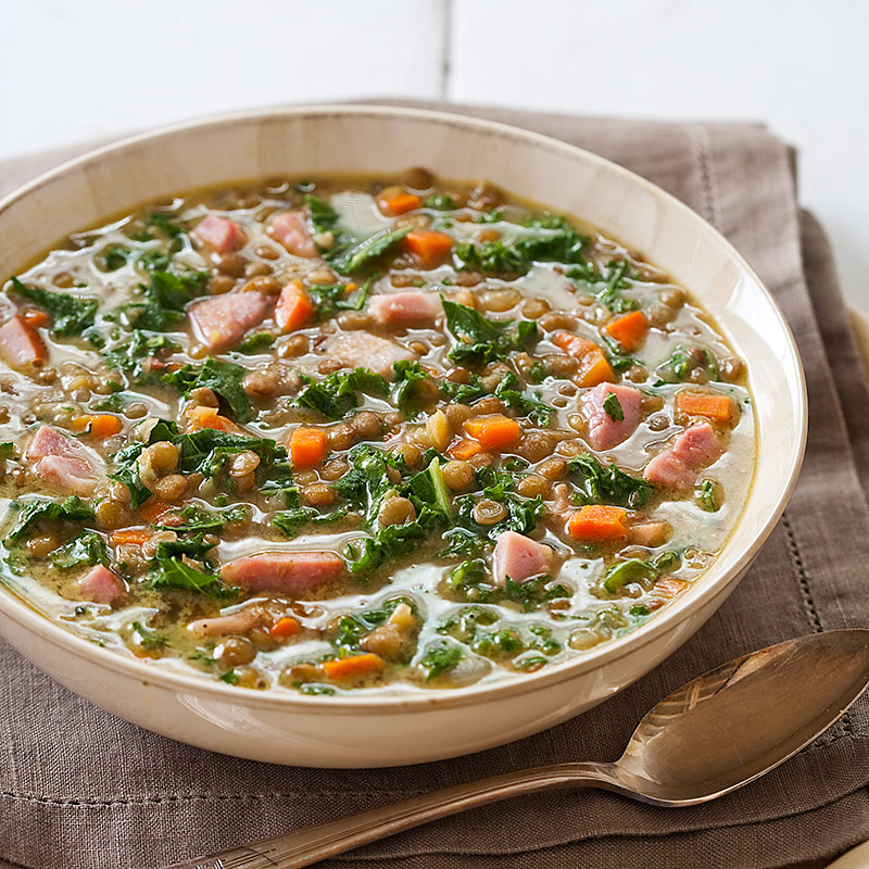 Lentil Soup with Ham Recipe - Cook's Country