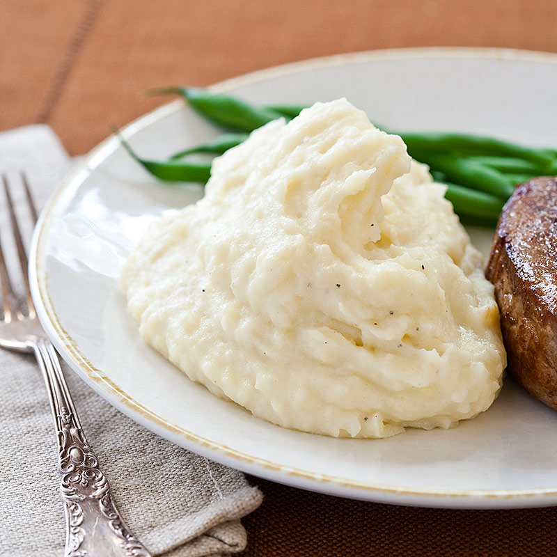Reduced-Fat Mashed Potatoes Recipe