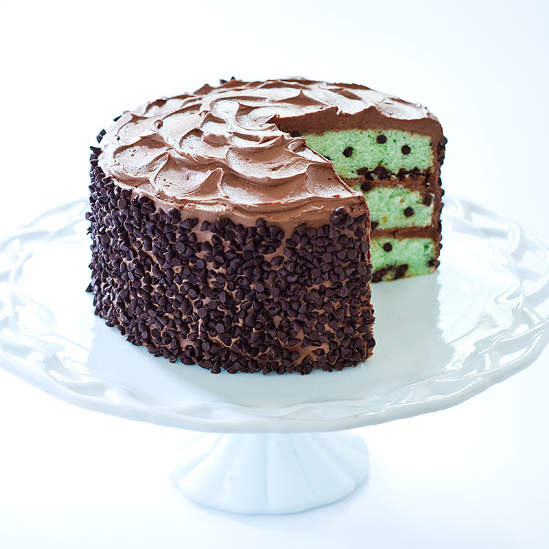 mint chocolate chip cake mint chocolate chip cake cook s country 5951