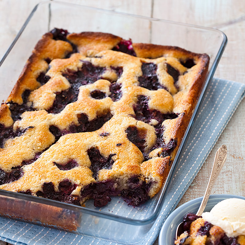 Kitchen Styles Quiz: Texas-Style Blueberry Cobbler