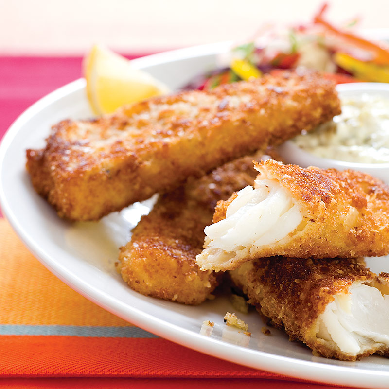 crispy fish sticks with tartar sauce cook 39 s country