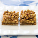 Apple-Pear-Coffee Streusel Bars