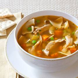 Slow Cooker Old Fashioned Chicken Noodle Soup Americas Test Kitchen
