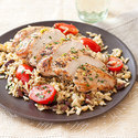 Lemony Mediterranean Chicken and Rice