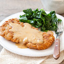 Country-Fried Pork with Gravy