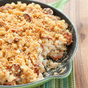 Skillet Kielbasa Macaroni and Cheese