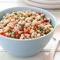 White Bean Salad with Tomatoes and Olives
