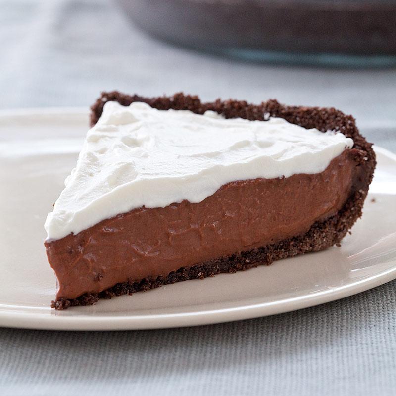 Reduced-Fat Chocolate Cream Pie