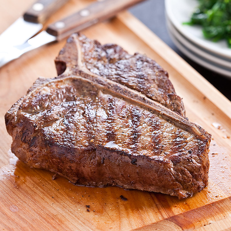 bone Steaks on The Grill Grilled T-bone Steaks With