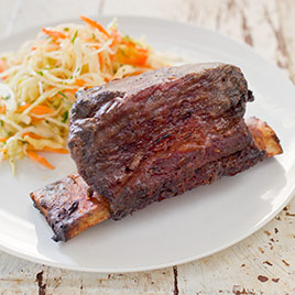 Grill-Roasted Beef Short Ribs
