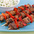 Grilled Beef and Red Pepper Skewers