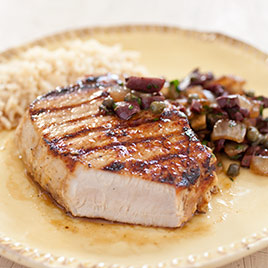 America S Test Kitchen Grilled Pork Chops