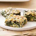 Bacon-Cheddar Spinach Squares