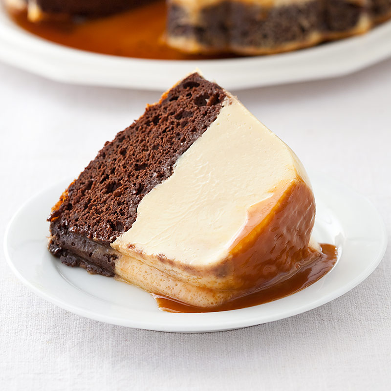 Magic Chocolate Flan Cake Cooks Country