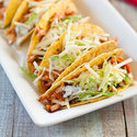 Easy Chicken and Salsa Tacos