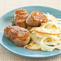Honey-Rosemary Pork Medallions with Fennel Salad