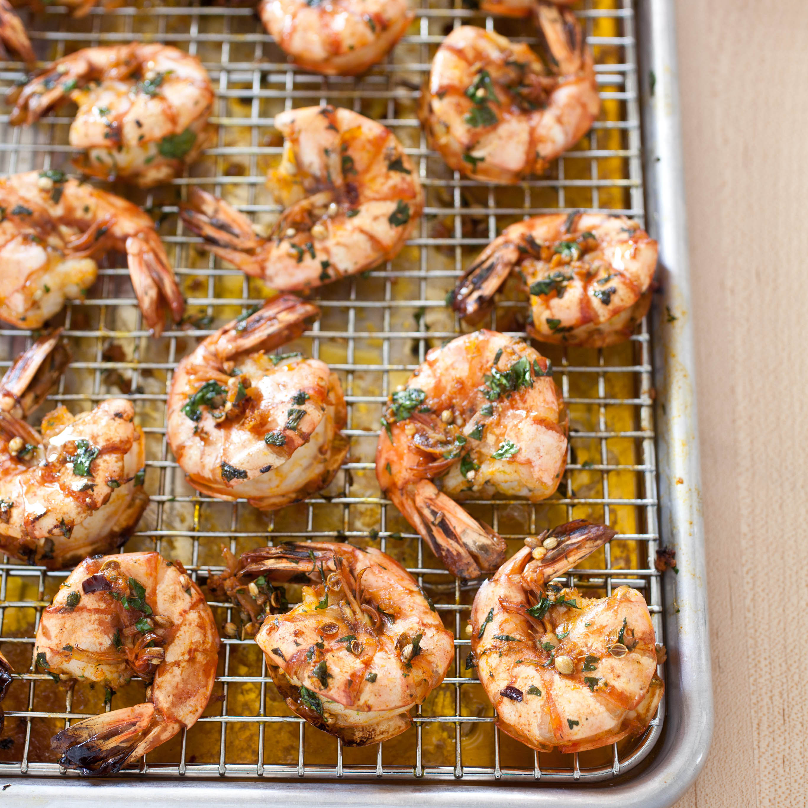 garlicky roasted shrimp with parsley and anise america s test kitchen