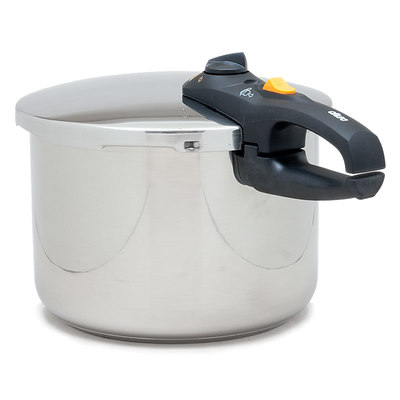 Fagor Duo 8-Quart Stainless Steel Pressure Cooker