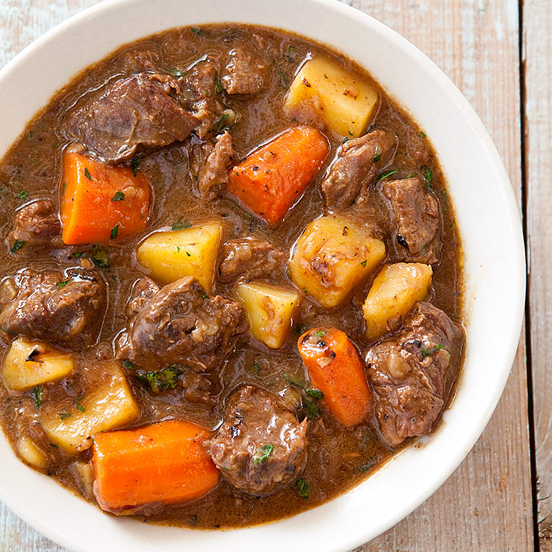 Beer Beef Stew Recipe — Dishmaps