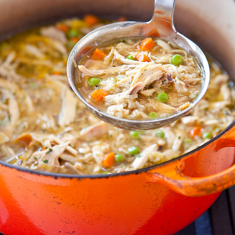 Chicken And Rice Soup Cooks Country