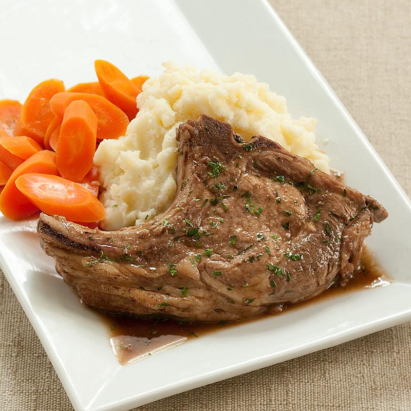 Chop Chop Kitchen: Red Wine-Braised Pork Chops Recipe