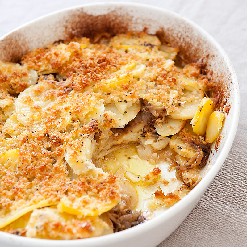 America S Test Kitchen Potatoes Au Gratin Recipe