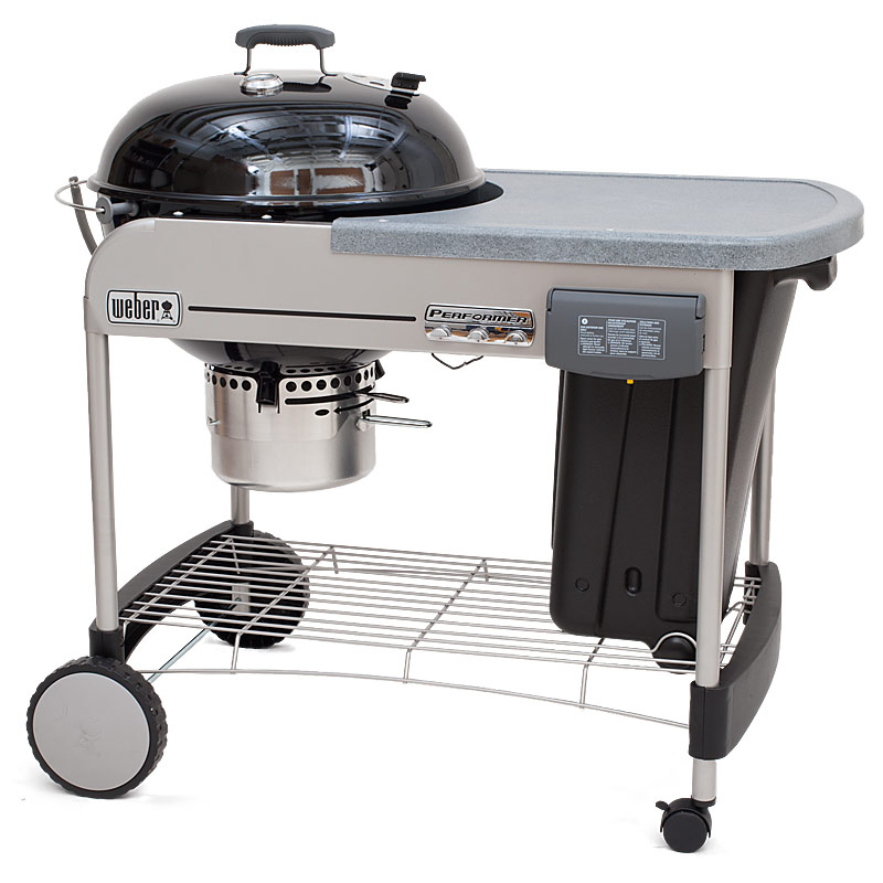 The best charcoal grills cook 39 s illustrated for Weber performer deluxe