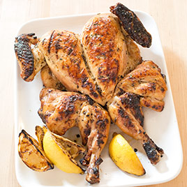 Grilled Lemon Chicken with Rosemary Recipe - America's Test Kitchen