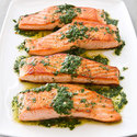Pan-Seared Salmon with Chimichurri