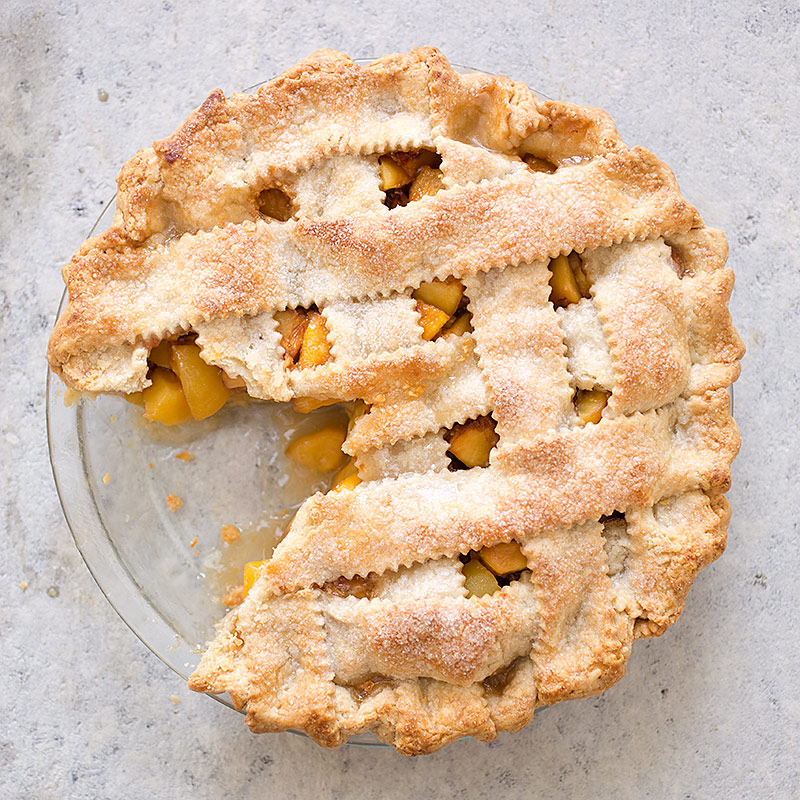 America S Test Kitchen Fresh Peach Pie Recipe
