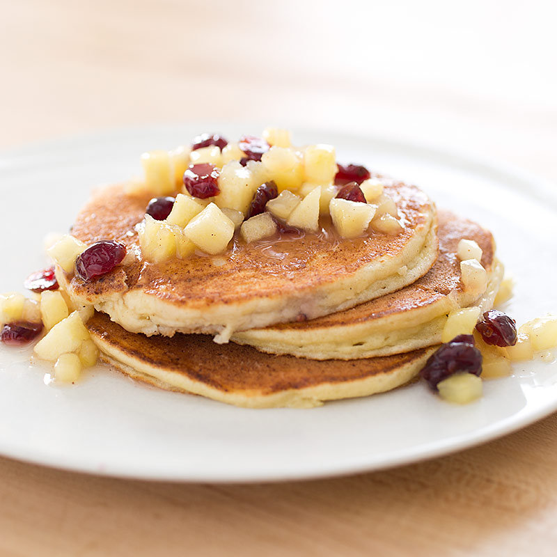 Lemon Ricotta Pancakes Recipe - America's Test Kitchen