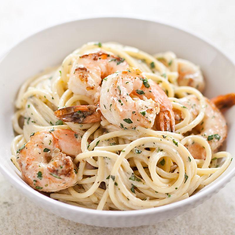 Garlicky Shrimp Pasta America S Test Kitchen