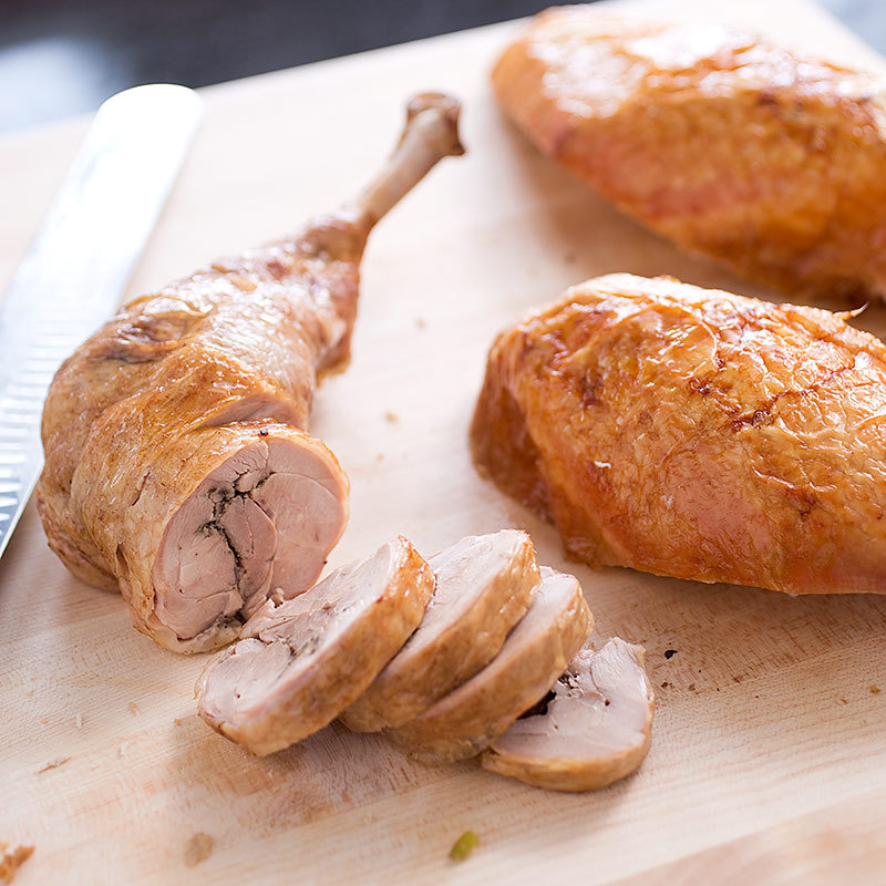 Julia Child's Stuffed Turkey, Updated