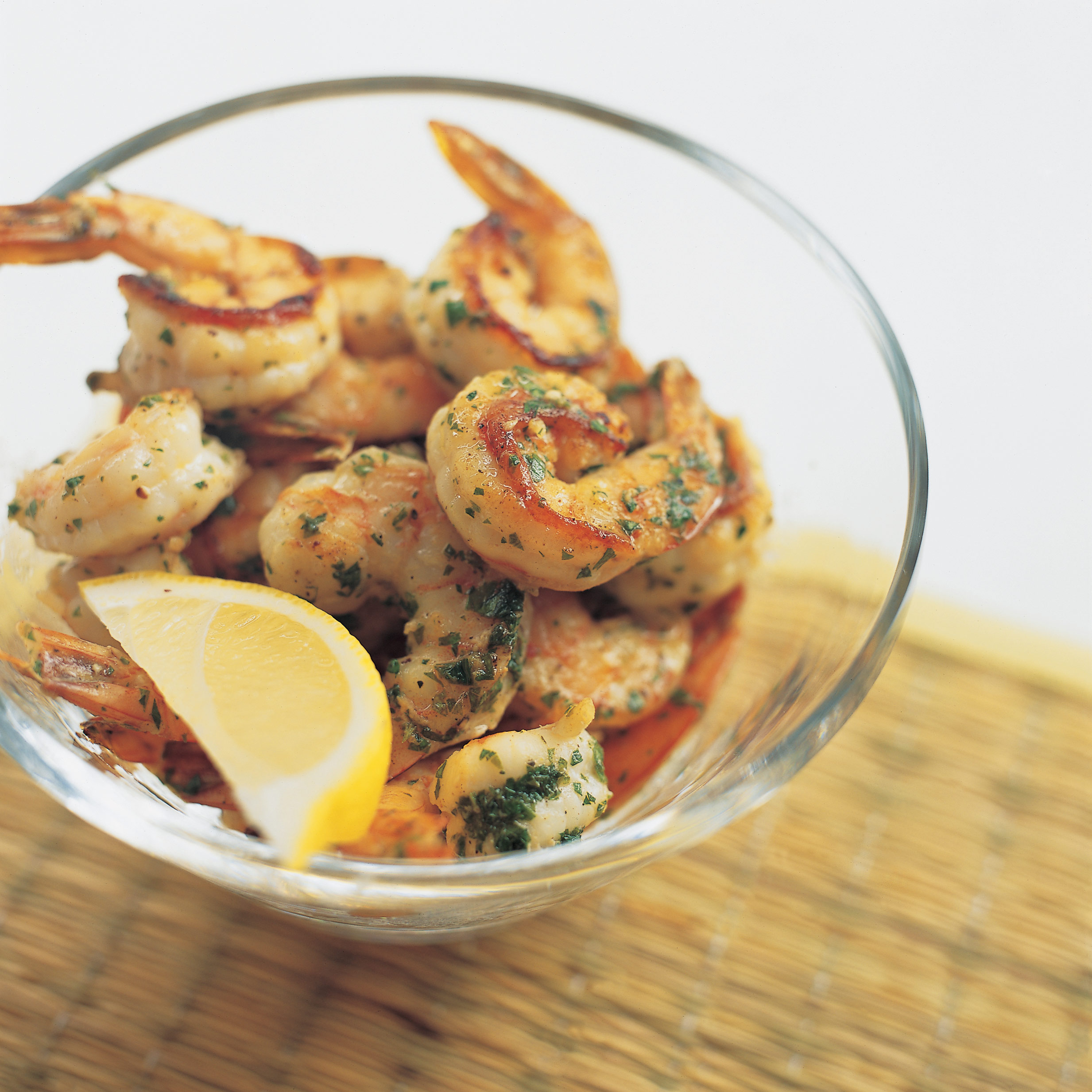 Kitchen Recipes: Pan-Seared Shrimp With Garlic-Lemon Butter Recipe