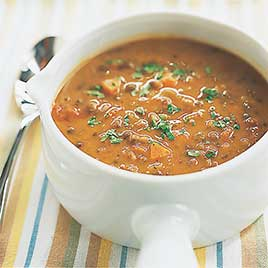 Hearty Lentil Soup America S Test Kitchen