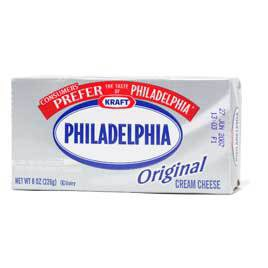 Supermarket Cream Cheese