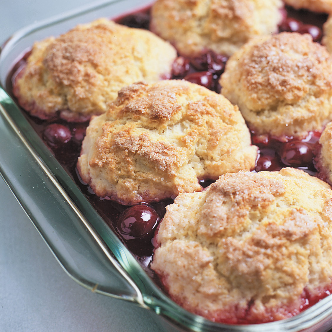 Sour Cherry Cobbler | America\'s Test Kitchen