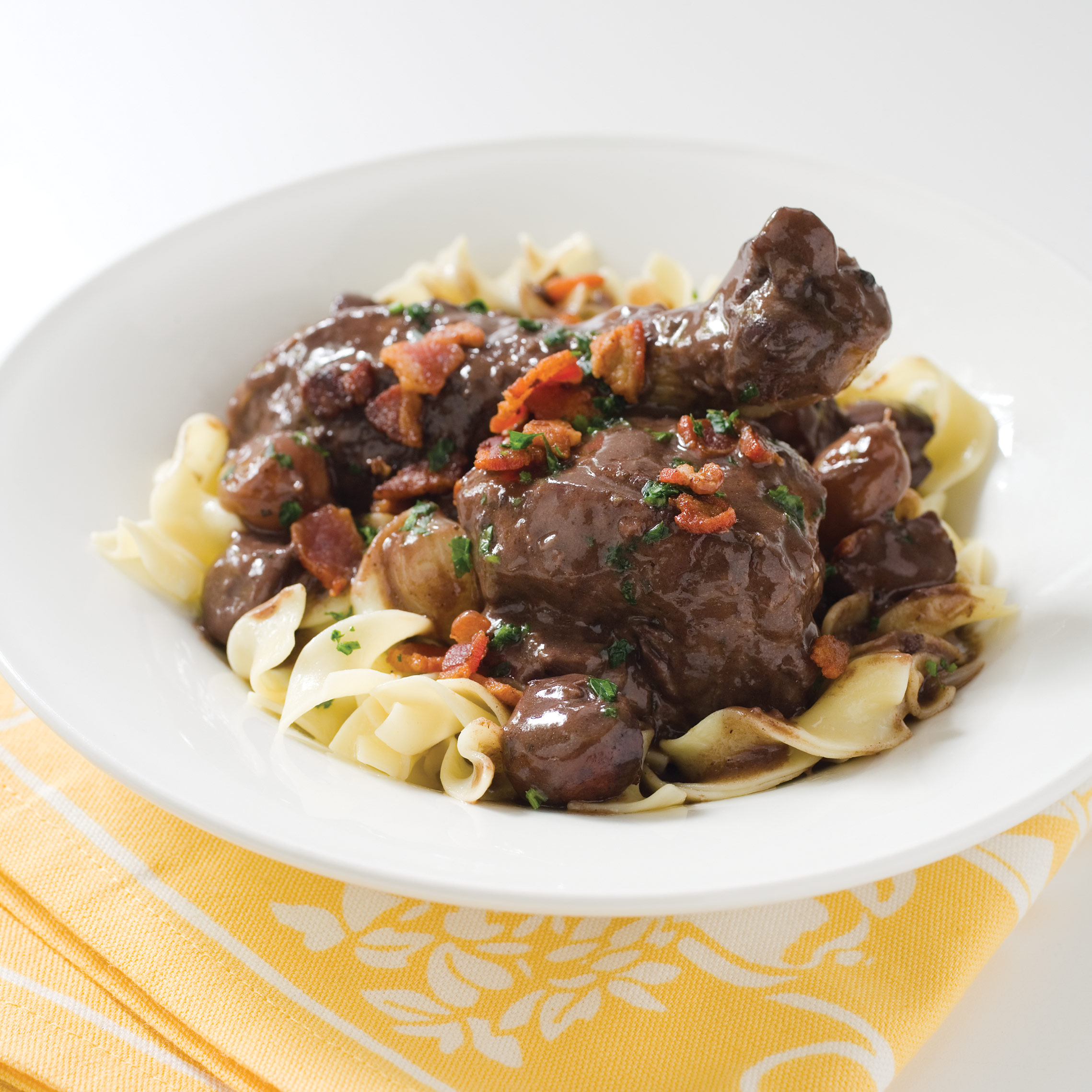 Slow Cooker Coq Au Vin Americas Test Kitchen