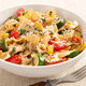 Pasta and Squash with Tomatoes, Basil, and Pine Nuts