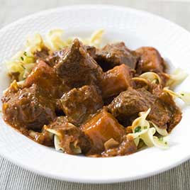 Hungarian Beef Stew Recipe - America's Test Kitchen